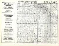 Washington T27N-R14E, Adams County 1962
